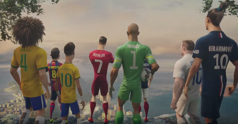 The last game ! (From Nike)