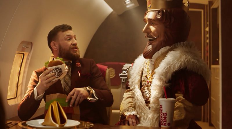 Conor McGregor fait la pub de Burger King!